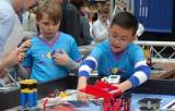 Groep 7 naar de Lego Leaque