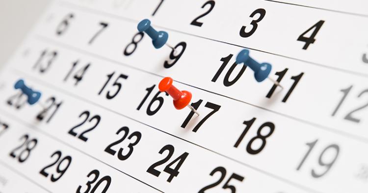 Schoolkalender 2018-2019
